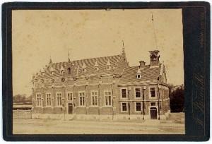 Gmach Sokoła przed rozbudową 1889-1894